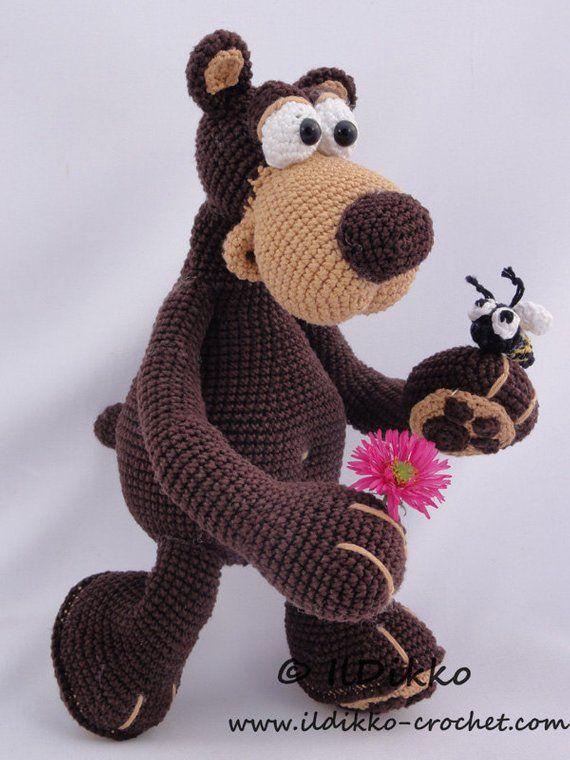 Amigurumi Crochet Pattern Bernard The Bear English Version