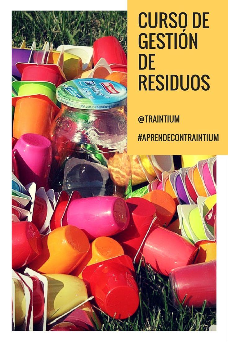 Curso de Gestión de Residuos #aprendecontraintium #traintium #cursosonline