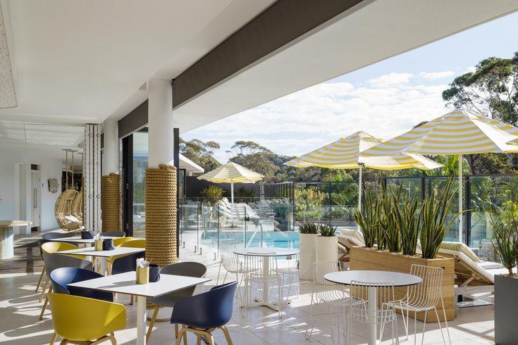 Interiors | alwill  #openplan #interiors #outdoor #pool #hotel