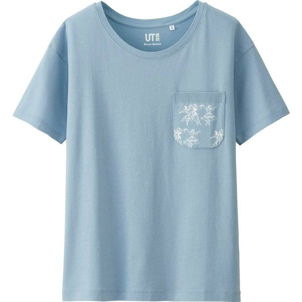 31 best kaws x uniqlo images on pinterest for Pocket tee shirts for womens