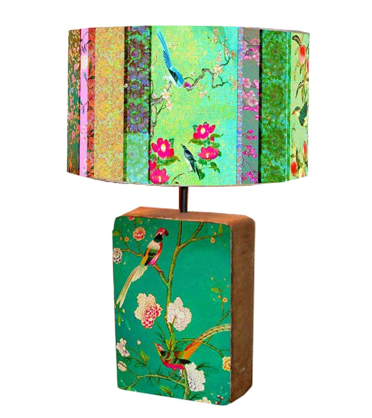 Love this lamp by Anna Chandler