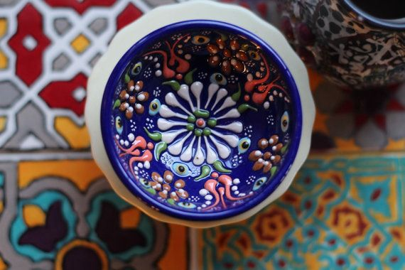 Hand-Painted Moroccan/Mediterranean/Turkish by XedCreativeDesign