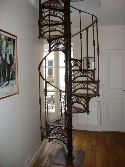31 best images about escaliers on pinterest villas metals and scandinavian - Escalier colimacon metal ...