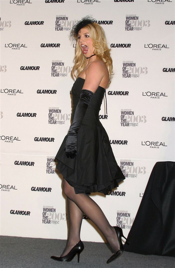 Brittany Spears In Pantyhose