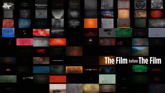 THE FILM before THE FILM by ntsdpz. If you've ever seen a movie, you've seen opening titles of some kind. Opening credits have existed pretty much since the beginning of moving pictures, and they are as varied as the films themselves.