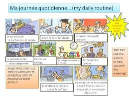 Daily Routine in French