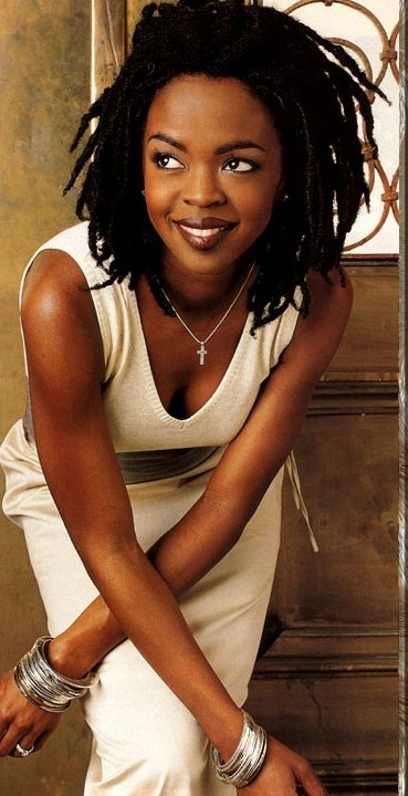 Lauryn Hill... <3 she is and amazing artist. i admire her passion for music and being able to express herself in such a way she touches everyone by it***