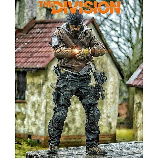multicam black airsoft cosplay on Instagram | The Division ...
