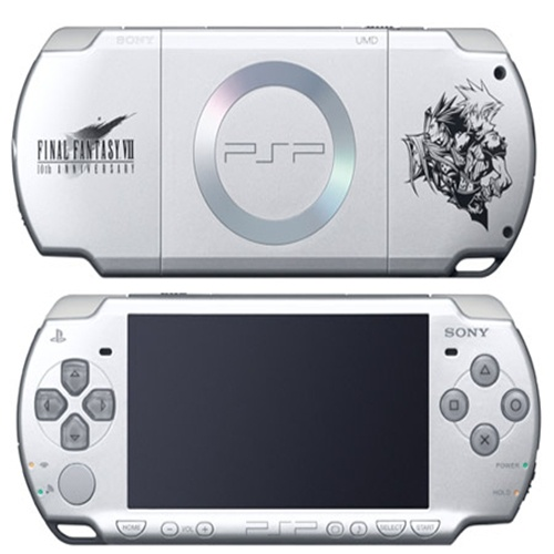 PSP Final Fantasy VII Crisis Core (10th Anniversary) Limited Edition.