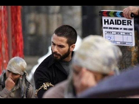 Shahid Kapoor's HAIDER look revealed LEAKED PHOTOS.