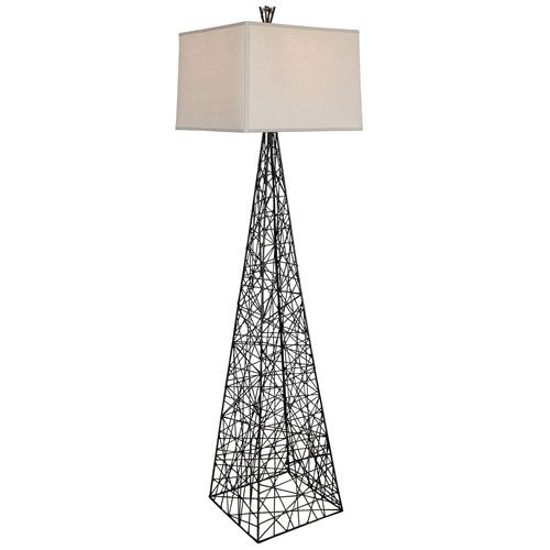 Bond One-Light Bronze Floor Lamp