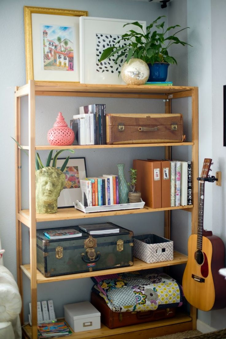 54+ Creative Decorating Bookcases Ideas for Living Room ...