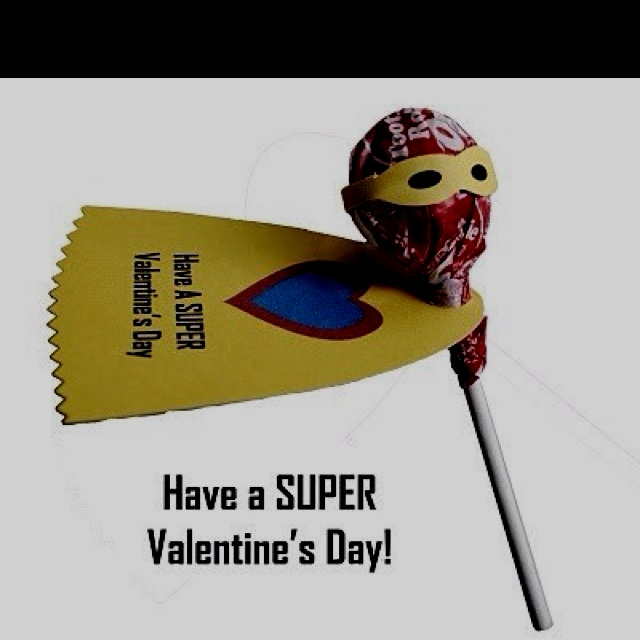 Valentine idea for little boys to hand out at school!  So cute! @Peggy Bielefeld