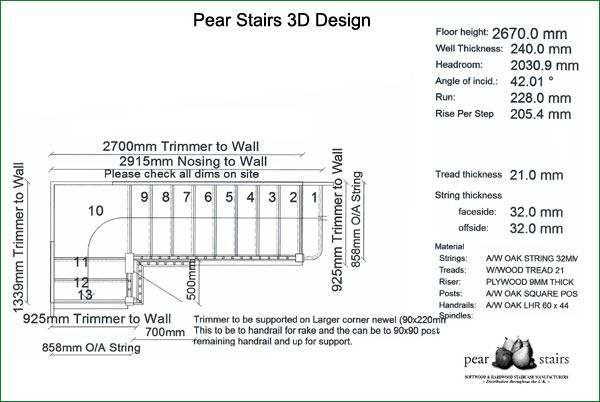 Spicer Street Staircase - staircase design.