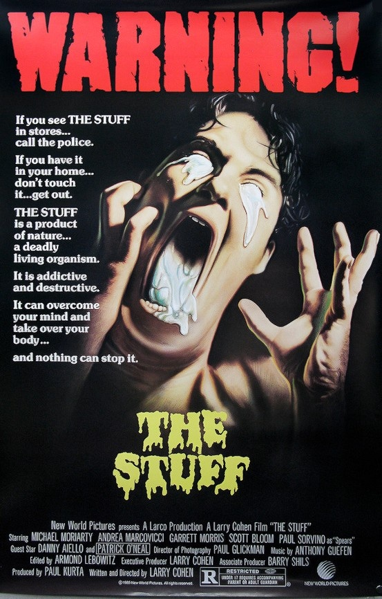 The Stuff (1985) Premiered 14 June 1985