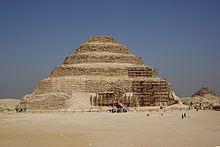 Step Pyramid of Djoser at Saqqara 3rd Dynasty - Wikipedia