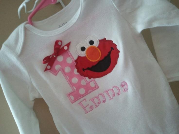 22 best Elmo Birthday images on Pinterest