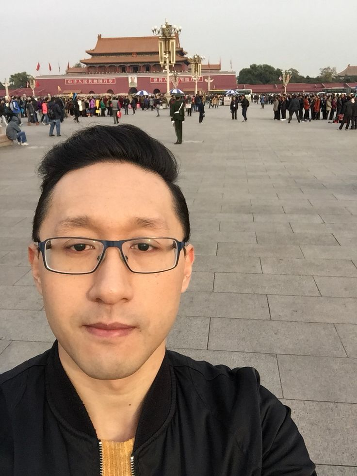 Me at Tianmen Square, Beijing, China. On my way to the Forbidden City.