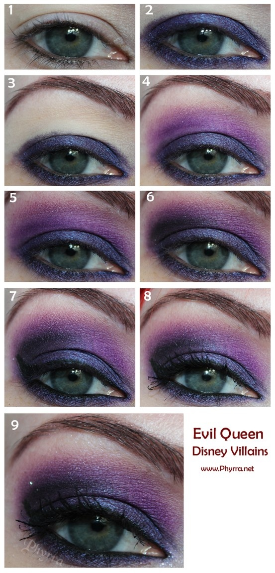 Evil Queen Makeup Idea