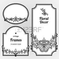 Resultado de imagen para marcos para invitaciones de boda blanco y negro