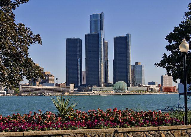Detroit Marriott at the Renaissance Center | Exterior | Visit Detroit | Detroit Michigan by Visit Detroit, via Flickr