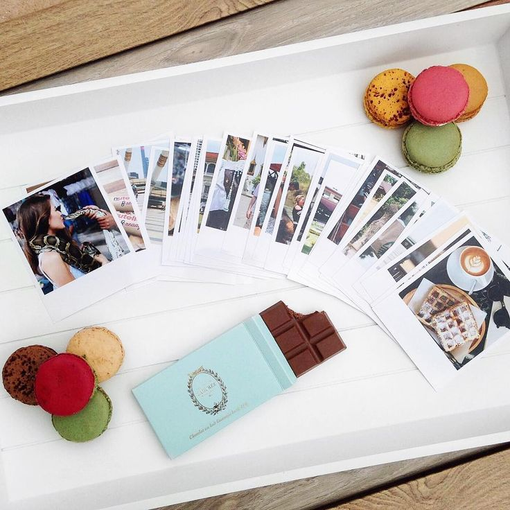 Chocolate, macaroons and polaroids. Perfect combination. #squaredone #chocolate #macaroons #polaroids #polaroidpic #developedphotos