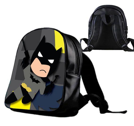 Batman Kids  Backpack/Schoolbags for kids. by Wonderfunny on Etsy #Minecraft #backpack #schoolbags #gift #birthday
