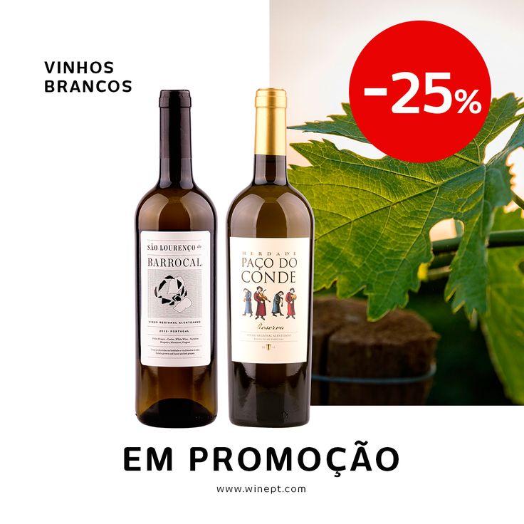 Até dia 25 de Julho não perca descontos até 25% numa seleção de vinhos brancos. Aproveite já porque o stock é muito limitado. Saiba tudo aqui