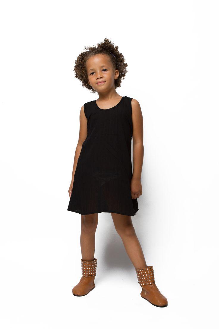Sunny + Finn Black El Dress - A Little Bit of Cheek