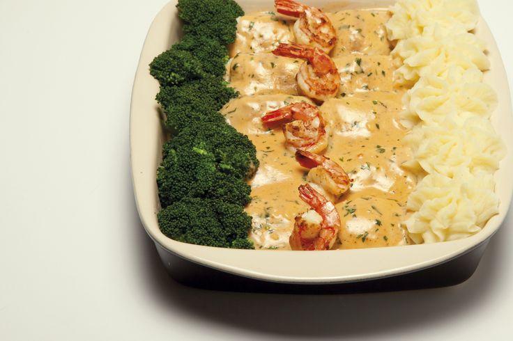 Receita de Mimos de pescada com camarão. Descubra como cozinhar Mimos de pescada com camarão de maneira prática e deliciosa com a Teleculinaria!
