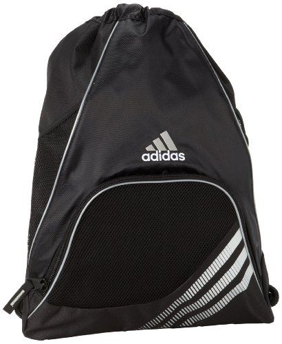 Black Friday adidas Team Speed Sackpack, One Size Fits All, Black from adidas Cyber Monday