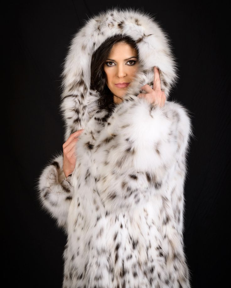 Get this ultimate luxury item, a hooded fur coat of lynx cat fur during your stay in Greece. Visit our retail stores, full list at pt-furs.com