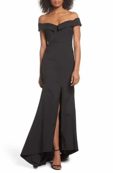 e7ddc8c83469 Jarlo Autumn Off the Shoulder Gown | Clothes | Off shoulder gown ...
