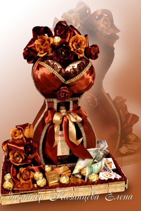Gallery.ru / Фото #63 - упаковка и оформление бутылочек - kazantceva