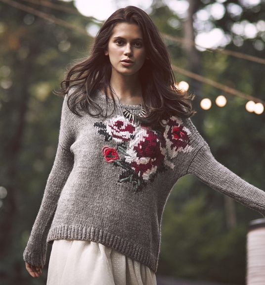 Fall Blooms. #FolkloricBohemian #AFLookbook