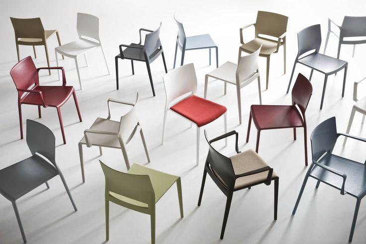 Plastové židle a křesílka BAKHITA, výrobce Gaber