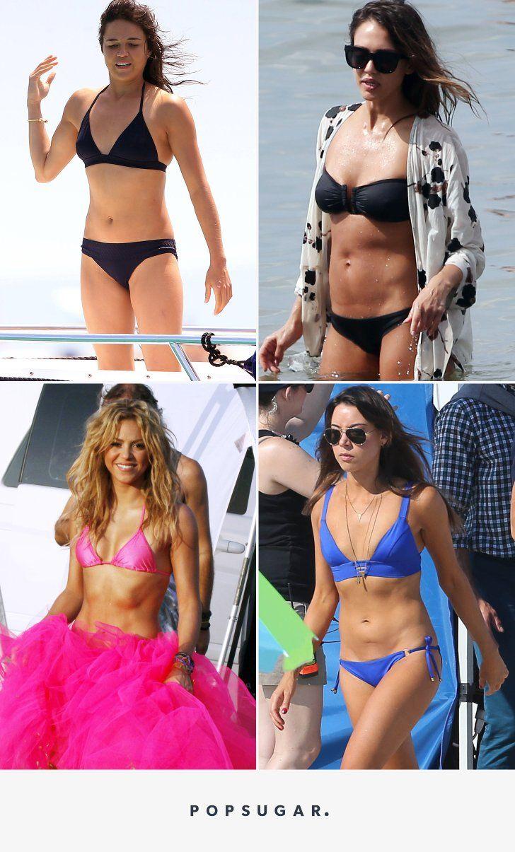 Your Favorite Stars Look Damn Good in Bikinis