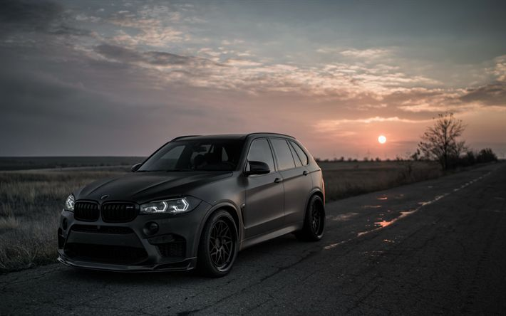 Download wallpapers 4k, BMW X5, tuning, 2018 cars, F15, Z Performance, BMW