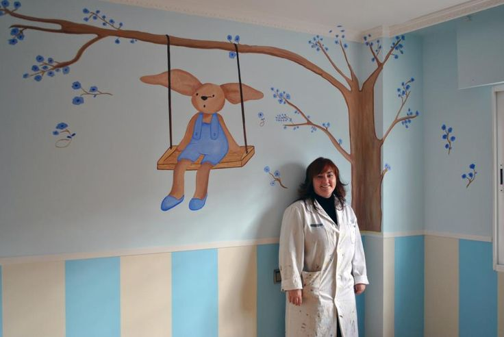Mural realizado por Belén García Lara