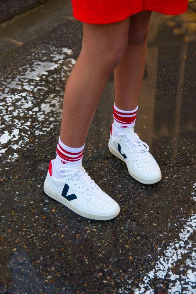 4464e894389 Show off your kicks. Our V-10 Nautico Pekin are made out of organic ...