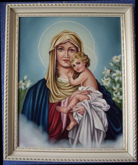 Дева Мария Трижды Прекрасная (холст,масло)