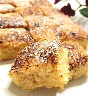 en kaka till: Saftig vaniljkaka gjord på vaniljvisp