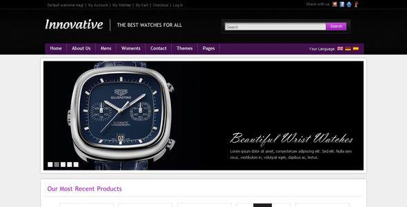 Innovative - Themeforest ecommerce HTML Shop