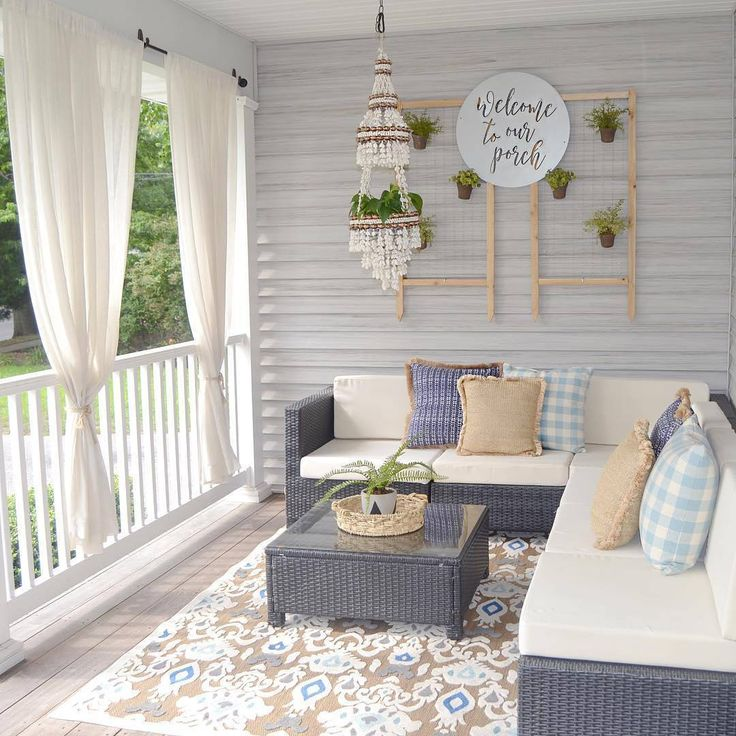 """(@countrylivingmag) on Instagram. """" Porch goals"""""""