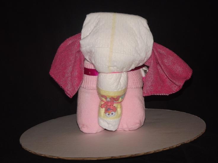Mini Diaper Elephant