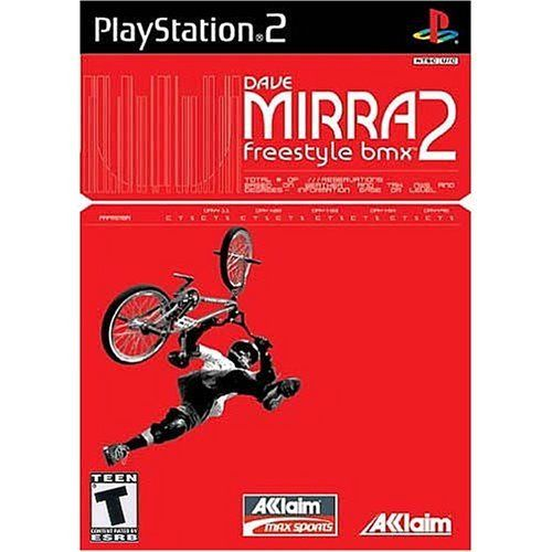 Dave Mirra 2: Freestyle BMX - PlayStation 2 by Acclaim Entertainment Inc. via https://www.bittopper.com/item/dave-mirra-2-freestyle-bmx-playstation-2-by-acclaim/ebitshopa7e5/