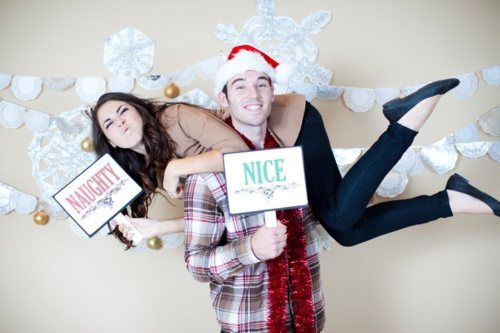 Christmas Photo Booth Decorations