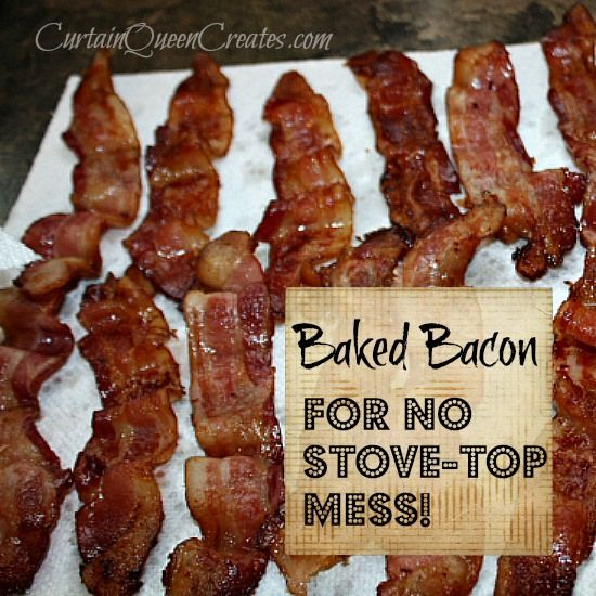 Baked Bacon + 2 Cooking Tips