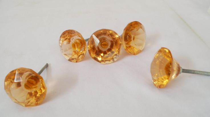 Assorted Glass Knobs