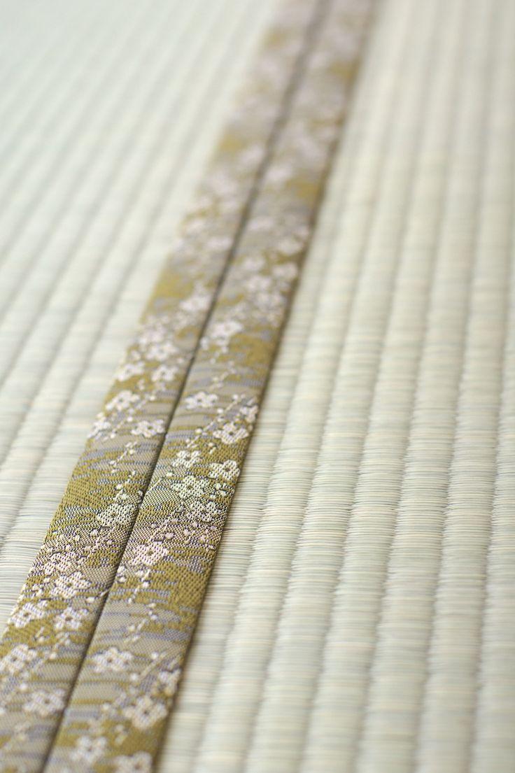 tatami / 今日のお仕事はこのような素敵な縁が着いた畳を作っています